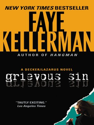 cover image of Grievous Sin